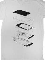 Exploded Phone T-Shirt