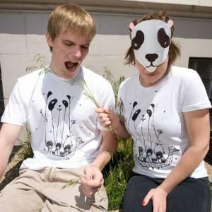 Fake Pandas Have More Fun T-Shirt
