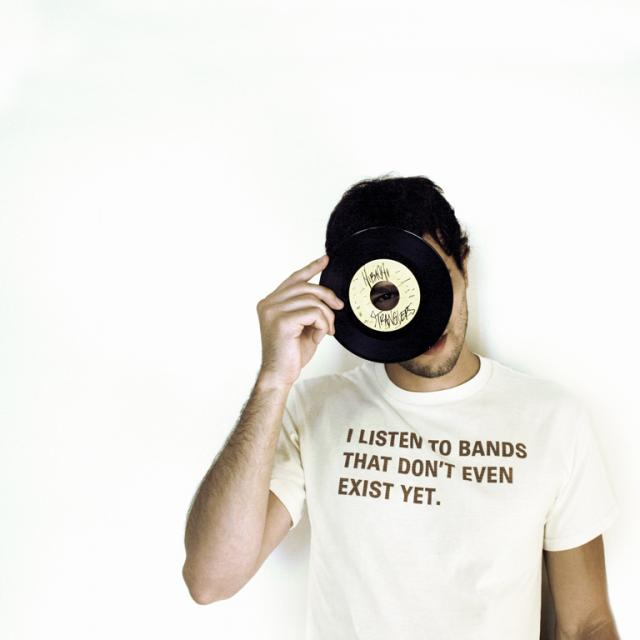 I Listen to Bands That Don't Even Exist Yet. T-Shirt