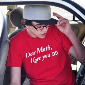 I Love Math Infinity T-Shirt