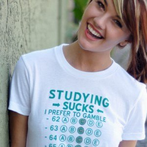 Studying Sucks, I Prefer To Gamble T-Shirt