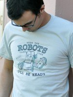 When The Robots Take Over T-Shirt