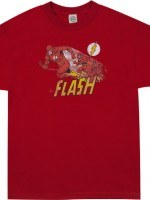 Sheldons Comet The Flash Shirt
