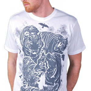 Birds and Tigers T-Shirt
