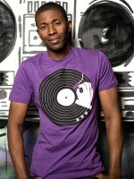 Music Business Remastered Purple T-Shirt