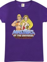 He-Man and She-Ra T-Shirt