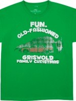 Green Griswold Family Christmas Vacation T-Shirt - The Shirt List