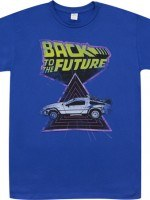 BTTF Delorean T-Shirt
