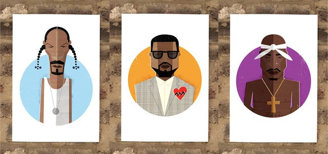 Hip Hop Heads Prints
