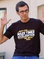 May The Mass x Acceleration T-Shirt