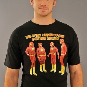 Big Bang Theory Costume Meeting T-Shirt