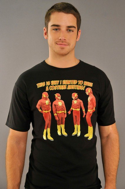 Big Bang Theory Costume Meeting T-Shirt