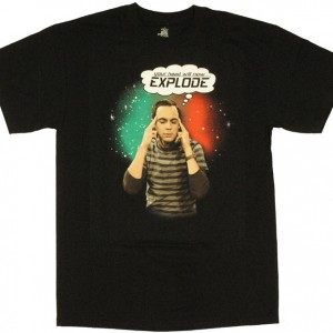 Big Bang Theory Explode T-Shirt