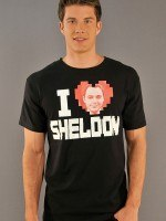 Big Bang Theory I heart Sheldon T-Shirt