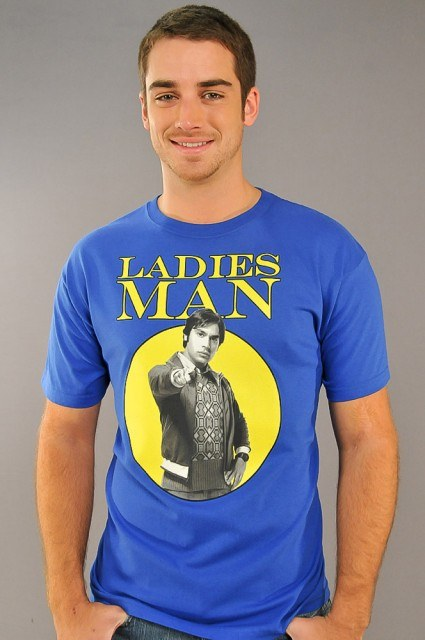 Big Bang Theory Ladies Man T-Shirt