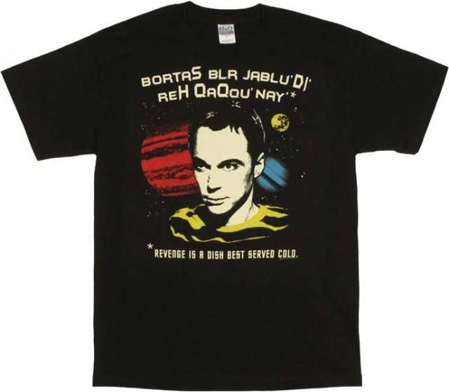 Big Bang Theory Revenge T-Shirt