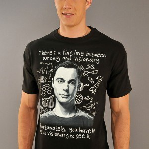 Big Bang Theory Visionary T-Shirt