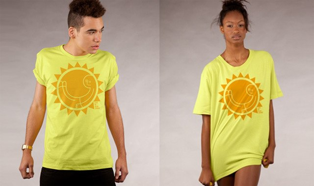 Live In Sunshine T-Shirt by Dale Edwin Murray