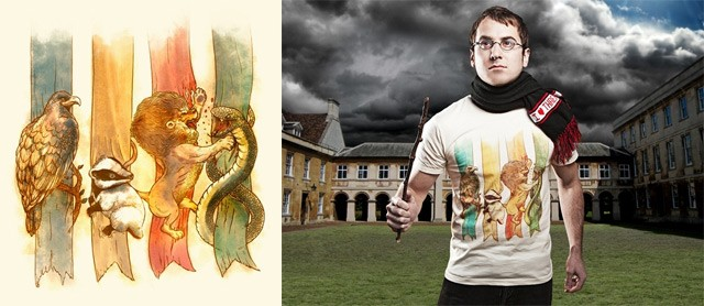 House Brawl T-Shirt by Alex Solis