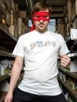Heroes In An Art Shell T-Shirt