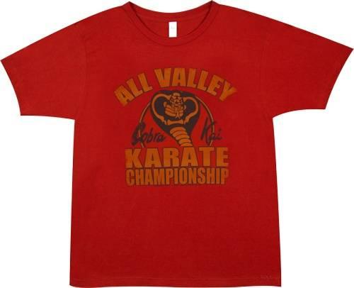 Cobra Kai Shirt: Cobra Kai Championship T-Shirt