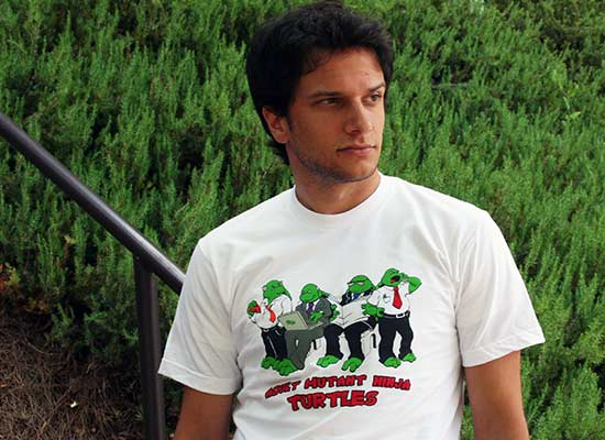 Adult Mutant Ninja Turtles T-Shirt