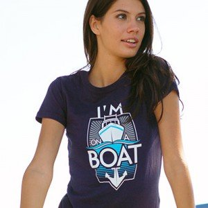SNL I'm On A Boat T-Shirt