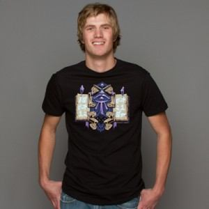 World of Warcraft Mage Class Crest T-Shirt