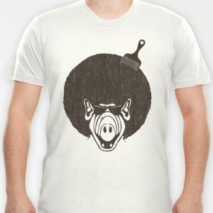 Alfro Alf with a fro T-Shirt