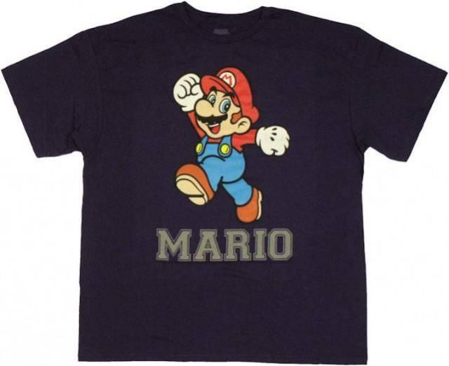 Mario Jump T Shirt