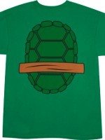 Michelangelo TMNT Shirt back