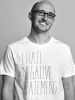 Gap + Threadless I Hate Negative Statements T-Shirt