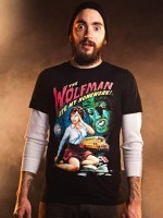 The Wolfman Ate My Homework! T-Shirt