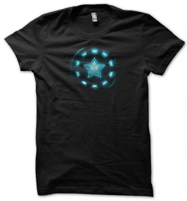 Star Powered Nintendo Iron Man T-Shirt