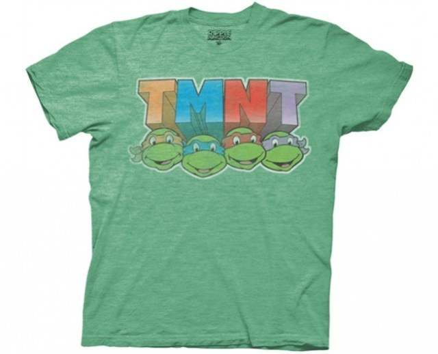TMNT Faces T-Shirt