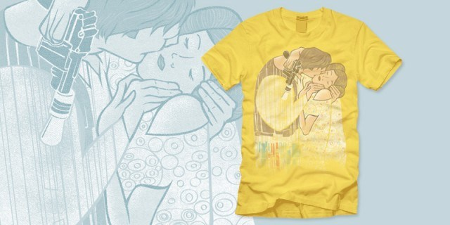 The Kiss (Han & Leia) T-Shirt