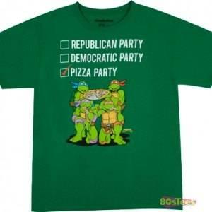 Vote Pizza Party T-Shirt