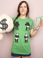 Bank Robbery Bear T-Shirt
