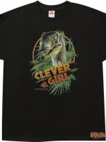Clever Girl Jurassic Park T-Shirt
