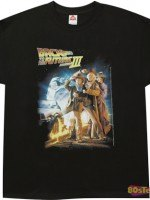 Movie Poster Back To The Future III T-Shirt