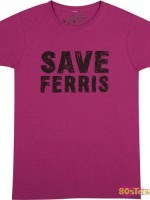 Pink Save Ferris T-Shirt