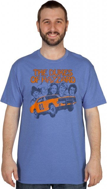 Faces The Dukes of Hazzard Shirt