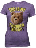 Ted Is My Thunder Buddy Women's T-Shirt