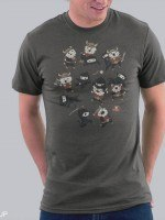 Ninjas vs. Vikings T-Shirt