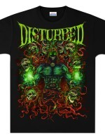 Disturbed Power Rager T-Shirt