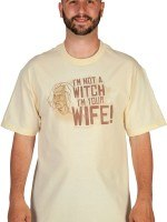 Not A Witch Princess Bride T-Shirt