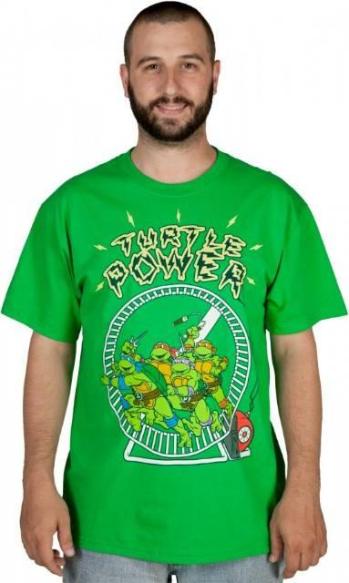 Ninja Turtle Power T Shirt The Shirt List