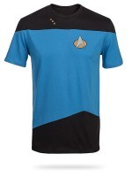 Star Trek TNG Uniform Blue T-Shirt