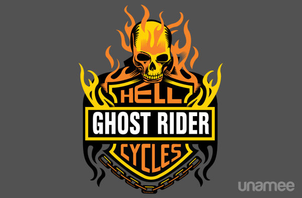 Ghost Rider Hellcycles T Shrt The Shirt List