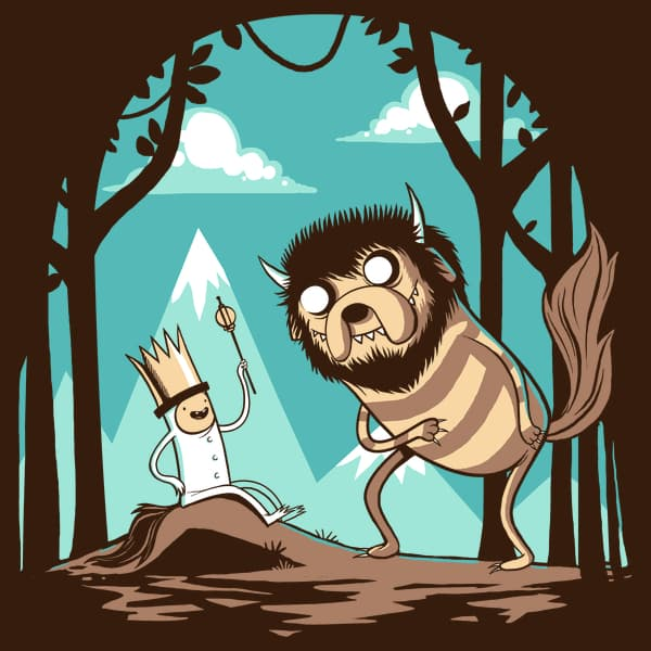 Where the Wild Things Are and Adventure Time Mashup